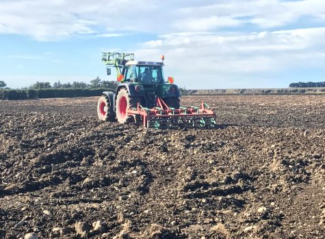 Chisel Ploughing Vineyard Development Marlborough